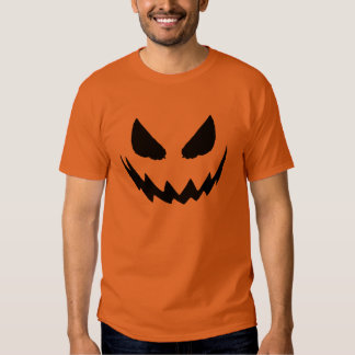 Jack-o-Lantern Face Pumpkin Orange Shirts