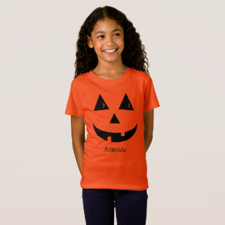 Jack O Lantern Girls T-Shirt