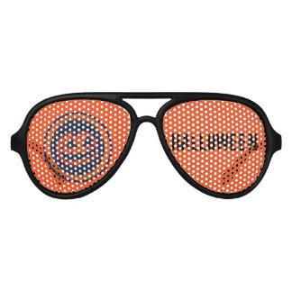 Jack -O -Lantern Halloween Aviator Sunglasses
