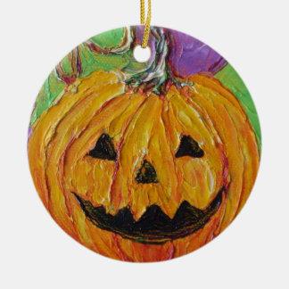 Jack-O-Lantern Halloween Ornament