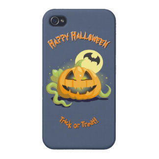 Jack O' Lantern Halloween Pumpkin iPhone 4/4S Case