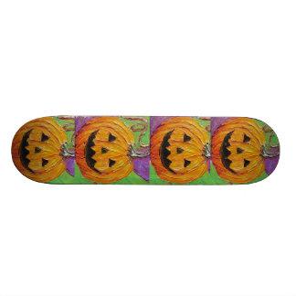 Jack-O-Lantern Halloween Skate Baord Custom Skate Board