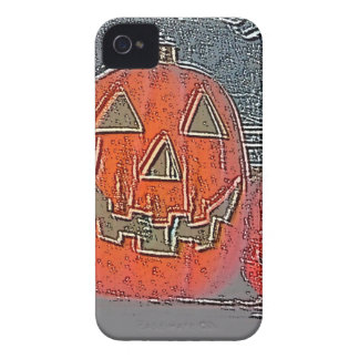Jack-O Lantern iPhone 4 Case-Mate Case