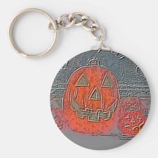 Jack-O Lantern Keychain