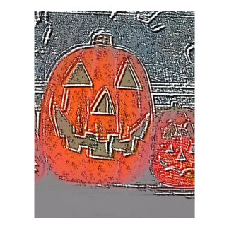 Jack-O Lantern Letterhead