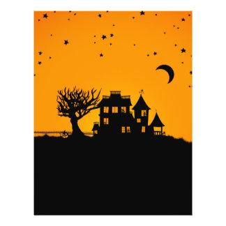 Jack O Lantern Manor Flyer Design