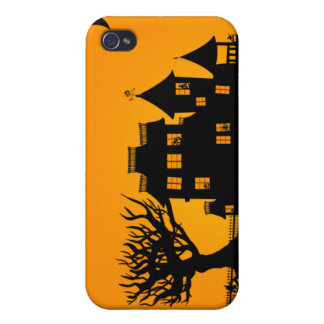 Jack O Lantern Manor iPhone 4 Cases