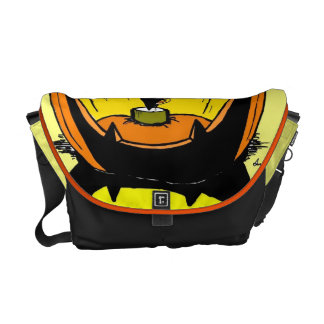 Jack o' Lantern Messanger Bag Messenger Bags