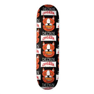 Jack-O-Lantern Pitbull Skate Board Deck
