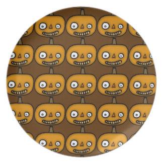 Jack O Lantern Plate