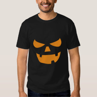 Jack O Lantern Pumpkin Face Halloween T Shirts