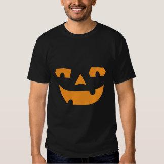 Jack O Lantern Pumpkin Face Halloween Tee Shirt