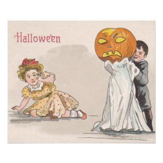 Jack O' Lantern Pumpkin Ghost Trick Or Treat Photograph