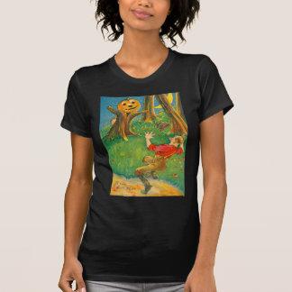 Jack O Lantern Pumpkin Monster Crescent Moon Shirts