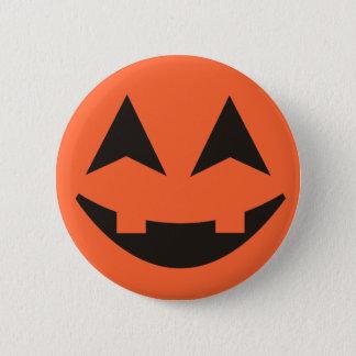 Jack O Lantern Pumpkin Vampire Halloween Button
