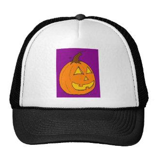 Jack o' Lantern Purple Hat
