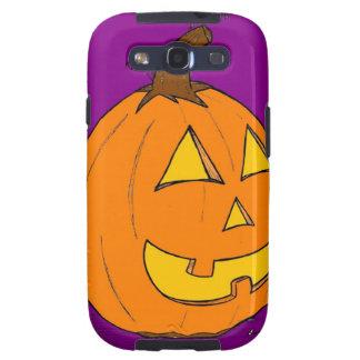 Jack o' Lantern Purple Samsung Galaxy S III Case