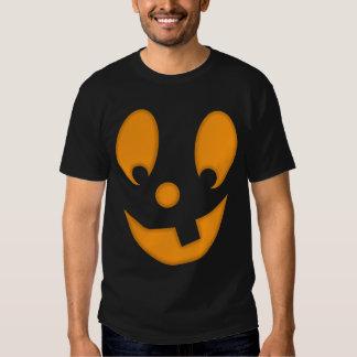 Jack-O-Lantern Silly Face Halloween Costume Tees
