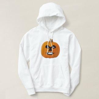 Jack o' Lantern Sinister Face, Halloween Pumpkin Hoodie