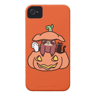 Jack O' Lantern Sloth iPhone 4 Cover