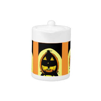 Jack o' Lantern Teapot