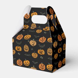 Jack-o'-lanterns Favor Box