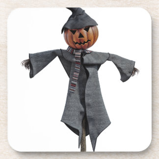 Jack O Scarecrow Beverage Coasters