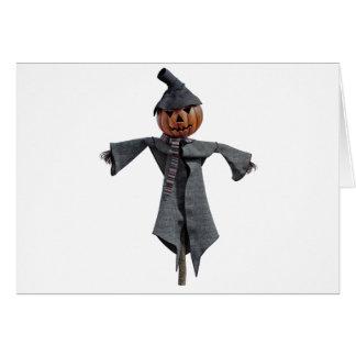 Jack O Scarecrow Card
