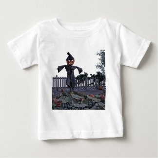 Jack O Scarecrow in a Pumpkin Patch Baby T-Shirt