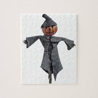 Jack O Scarecrow Jigsaw Puzzle