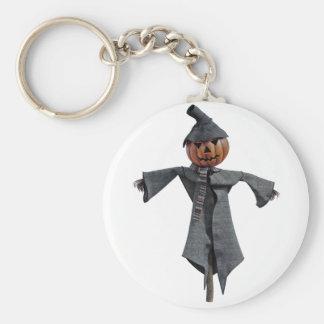 Jack O Scarecrow Keychain