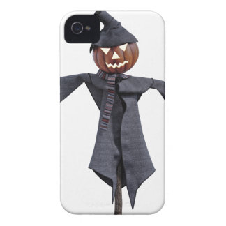 Jack O Scarecrow with Bright Eyes iPhone 4 Covers