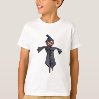 Jack O Scarecrow with Bright Eyes T-Shirt