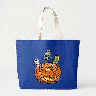Jack O'Budgies Large Tote Bag