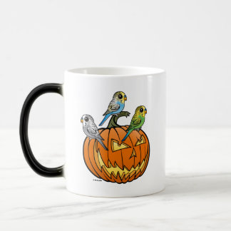 Jack O'Budgies Magic Mug