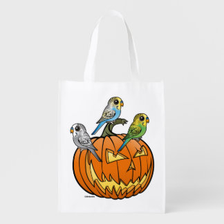 Jack O'Budgies Reusable Grocery Bag