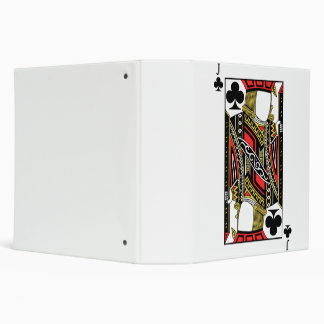 Jack of Clubs - Add Your Image 3 Ring Binder
