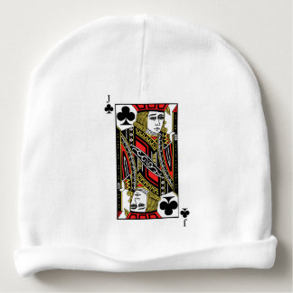 Jack of Clubs Baby Beanie