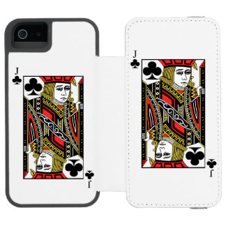 Jack of Clubs Incipio Watson™ iPhone 5 Wallet Case