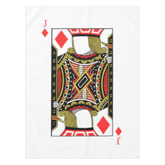 Jack of Diamonds - Add Your Image Tablecloth