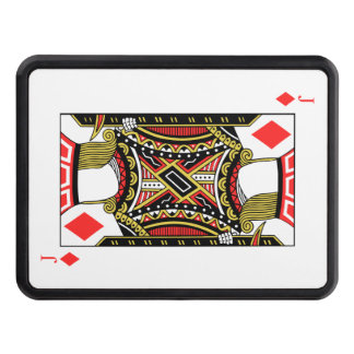 Jack of Diamonds - Add Your Image Trailer Hitch Cover