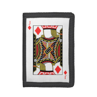 Jack of Diamonds - Add Your Image Trifold Wallet