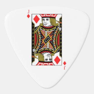 Jack of Diamonds Guitar Pick