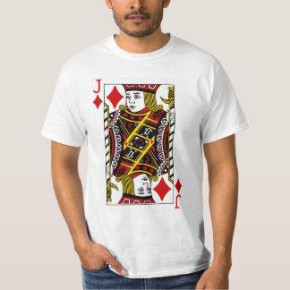 Jack Of Diamonds Playing Card T-Shirt