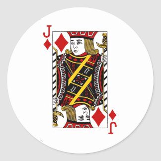 Jack of Diamonds stickers