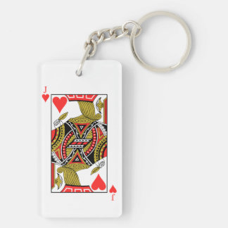 Jack of Hearts - Add Your Image Keychain