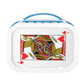 Jack of Hearts - Add Your Image Lunch Box