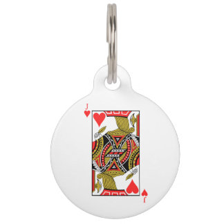 Jack of Hearts - Add Your Image Pet Tag