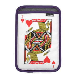 Jack of Hearts - Add Your Image Sleeve For iPad Mini