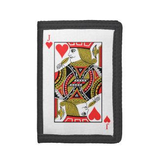 Jack of Hearts Tri-fold Wallet